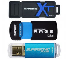 Patriot Supersoni RAGE XT, Supersonic Boost XT, Supersonic Pulse 128GB